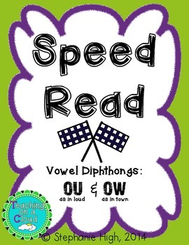 Vowel Diphthongs OU & OW Words as in (loud) and (town) Pho