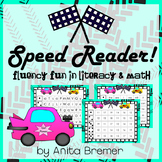 Speed Reader {Fluency Fun in Literacy and Math}