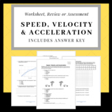 Calculating and Graphing Speed, Velocity, and Acceleration