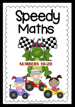 Speedy Maths - Addition & Subtraction - Numbers 10 - 20