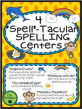 """""""Spell""""-Tacular Spelling Centers!"""