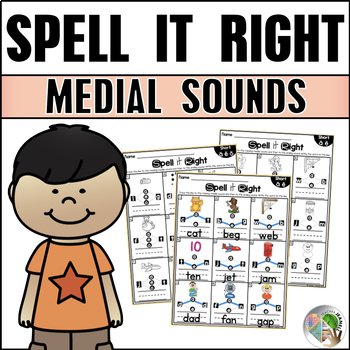 Spell it Right - Medial Sounds Practice