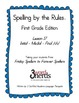 Spelling - Initial, Medial & Final /ch/ - First Grade