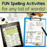 Spelling Activities – A Learning Center Using The Three-St