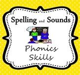 Spelling Activities:  Reteach Phonics Skills