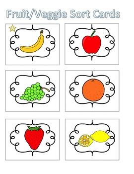 Spelling Activities|Words Their Way|Concept Sort Fruits an