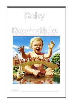 Spelling Activity Booklet- Baby Boomsticks