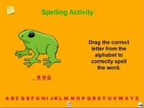 Spelling Activity for the New Speller a Pinkley Product