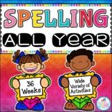 Spelling All Year {Growing Bundle}