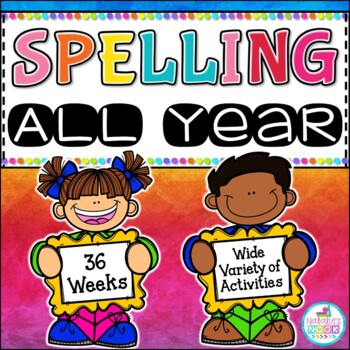 Spelling All Year {Growing Bundle}