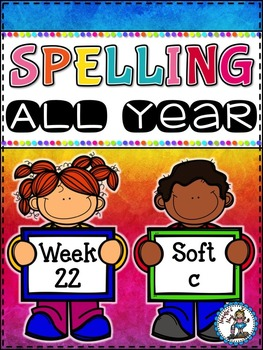 Spelling All Year {Week 22 - Soft c Words}