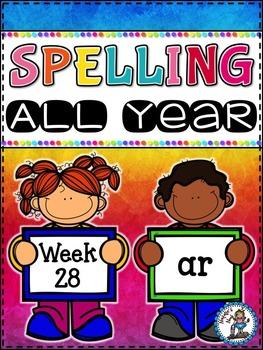 Spelling All Year {Week 28 - Bossy R (ar)}