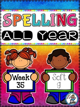 Spelling All Year {Week 35 - Soft g}