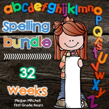 Spelling BUNDLE: Weeks 1-30~Growing