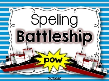 Spelling Battleship with bigger boards!