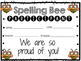 Spelling Bee Certificates