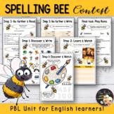 Spelling Bee Contest - Worksheet Bundle