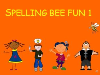 Spelling Bee Fun 1