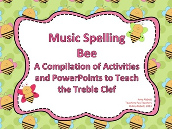 Spelling Bee: a Collection of Activities for Teaching the