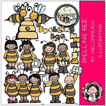 Spelling Bee by Melonheadz COMBO PACK