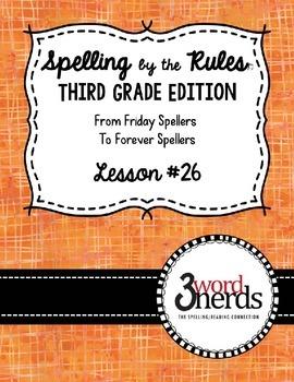 Spelling - Bossy w and Bossy l - Third Grade
