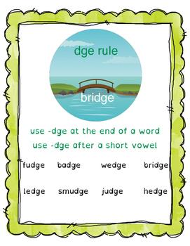 Spelling Bridge!  Orton Gillingham based Multisensory acti