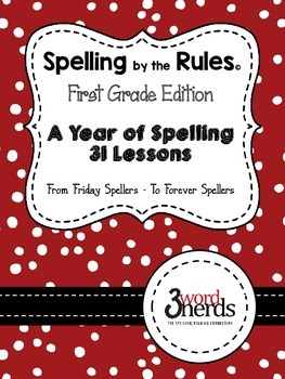 Spelling Bundle - 31 Ready-to-Go Spelling Lessons - First Grade