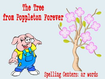 Journeys The Tree From Poppleton Forever Flipchart Spellin