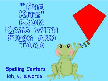 Journeys The Kite Interactive Flipchart Spelling Centers i