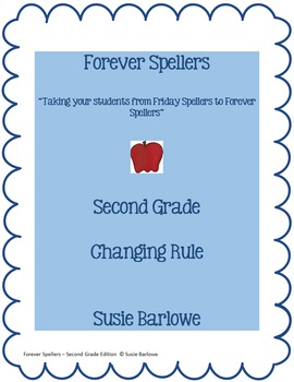 Spelling - Changing Rule - 2nd Grade