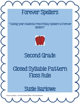 Spelling - Closed Syllable and Floss Rule- 2nd Grade
