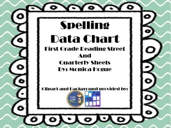 Spelling Data Sheet 1st Reading Street and General Quarterly