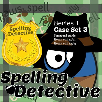 Spelling Detective: Series 1: Case Set 3
