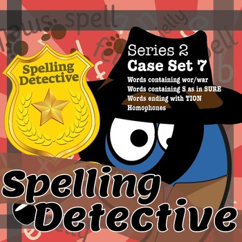 Spelling Detective: The SPaG Game: Series 2: Case Set 7