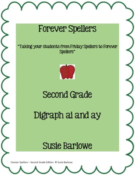 Spelling - Digraphs ai and ay - 2nd Grade