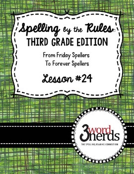 Spelling - Final Stable Syllables tion & sion - Third Grade