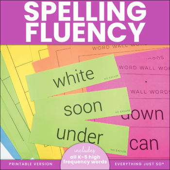 Spelling Fluency: The Key to Spelling Automaticity