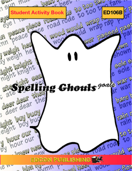 Spelling Ghouls Goals Lesson 5, j sound words, spelled g,