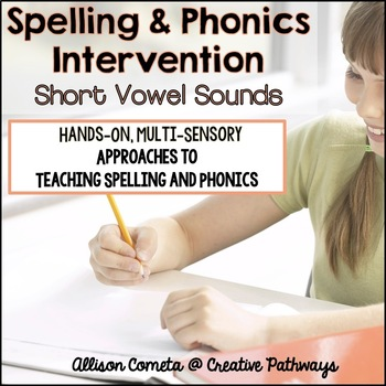 Spelling Intervention, Spelling and Phonics Intervention,