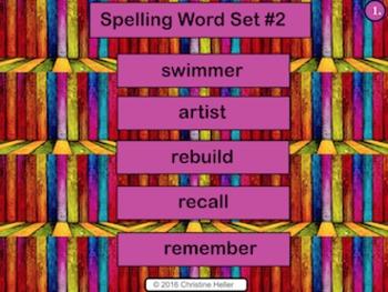 Spelling Lesson 2