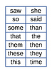 Spelling List 1 Flash Cards