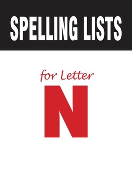 Spelling Lists for Consonant N