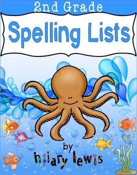 National Geographic Reach for Reading-Spelling Lists-2nd Grade