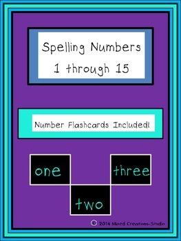 Spelling Numbers 1 through 15
