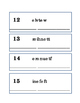 Spelling Numbers Word Scramble Critical Thinking Literacy
