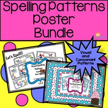 Spelling Pattern Posters - {Vowel & Consonant Bundle}