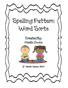 Spelling Pattern Word Sorts