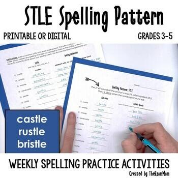 STLE Spelling Pattern