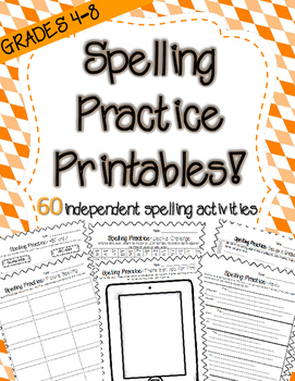 Word Work Activities for Big Kids! (60 Printables for ANY