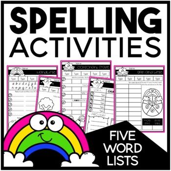 Spelling For Any List